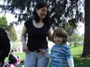 Sebastian cu mamica lui